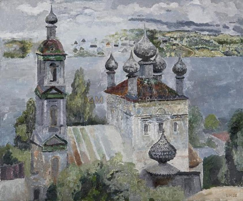 Russian Landscape 3,2006. <h3><span style=`font-family: times new roman,times;`><span style=`font-size: small;`>&nbsp;canvas,&nbsp;oil,&nbsp; 23,5`x19,75`(50x60cm)</span></span></h3>