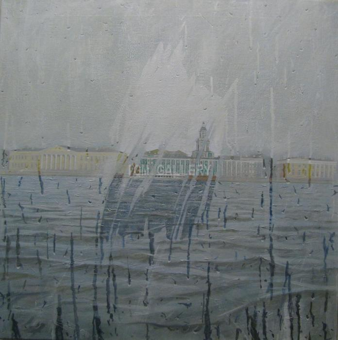 Petersburg, 2010. <h3><span style=`font-family: times new roman,times;`><span style=`font-size: small;`>Oil on canvas, 85 x 85 cm</span></span></h3>