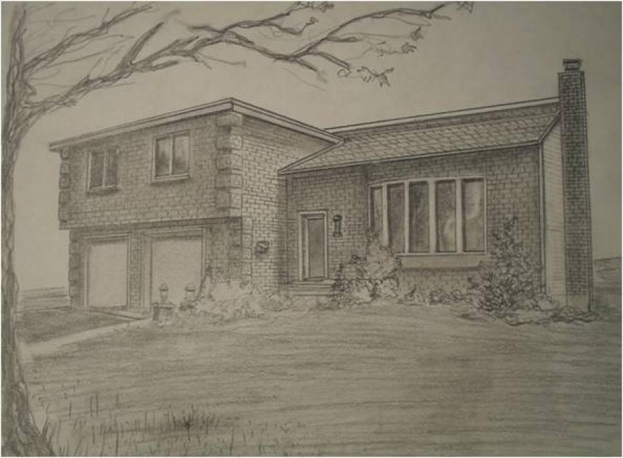 House In Graphite.