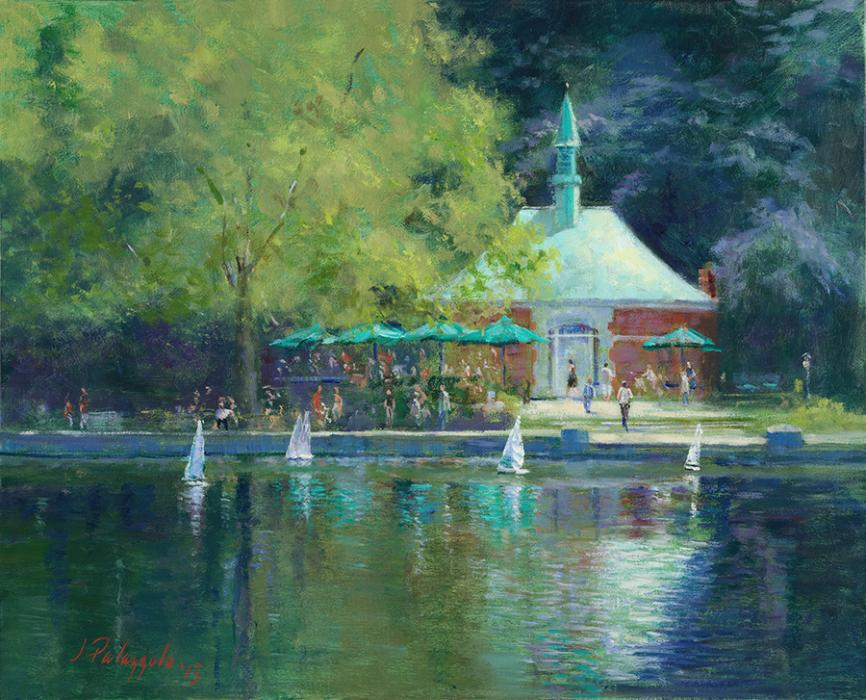 Conservatory, Central Park, New York City. <p><strong><span style=`font-size: large;`><em>SOLD - Limited edition giclees available.</em></span></strong></p>