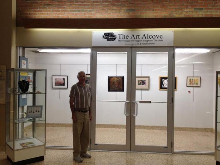 EXHIBIT IN THE ART ALCOVE - WEST END ARTS