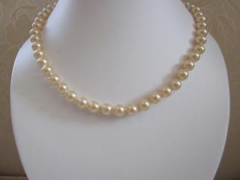 Vintage Manorca Faux Pearl Necklace by Vintage Creations