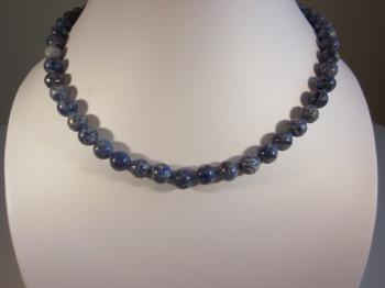 Denim Lapis Lazuli Necklace by Sold Items