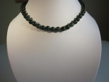 Vintage Nephrite Jade Necklace by Vintage Creations