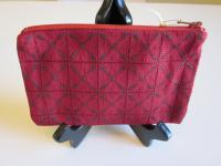 Red Crosses Fabric Mini-Case