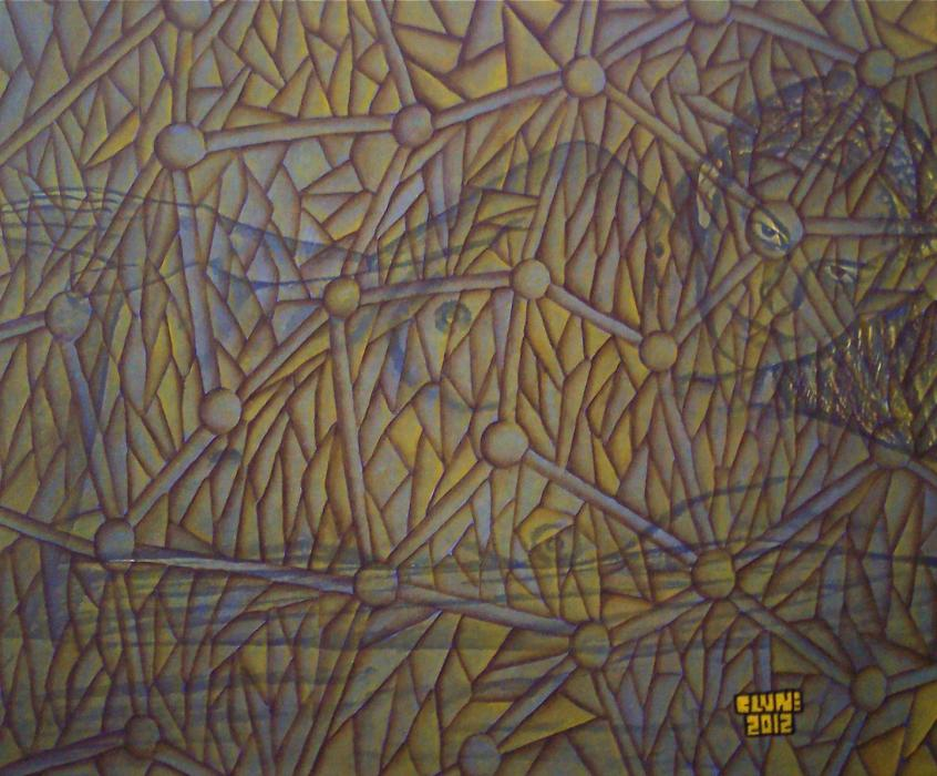 Sepia and Gold. 24` by 20` Original Currently available. Please Contact Regarding Prices.