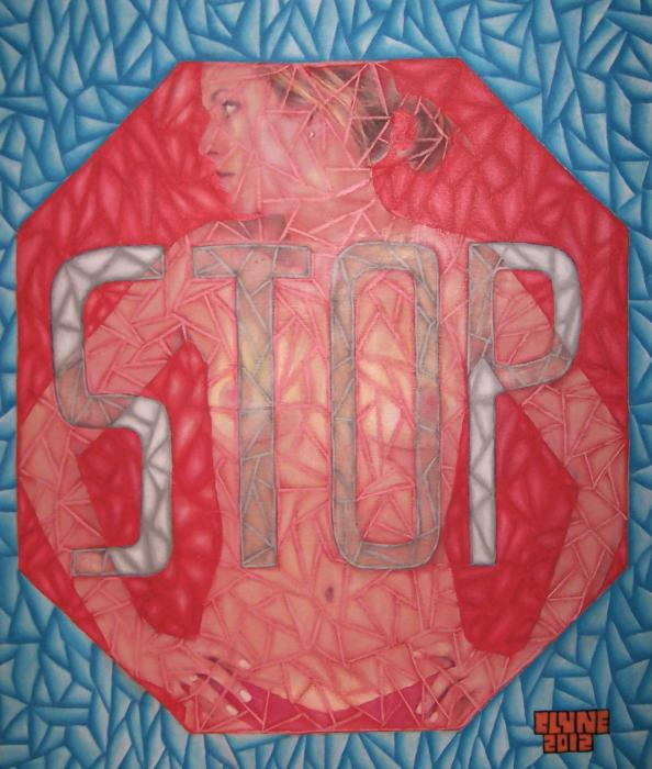 Stop. 20` by 24` Original Currently Available. Please Contact Regarding Prices.