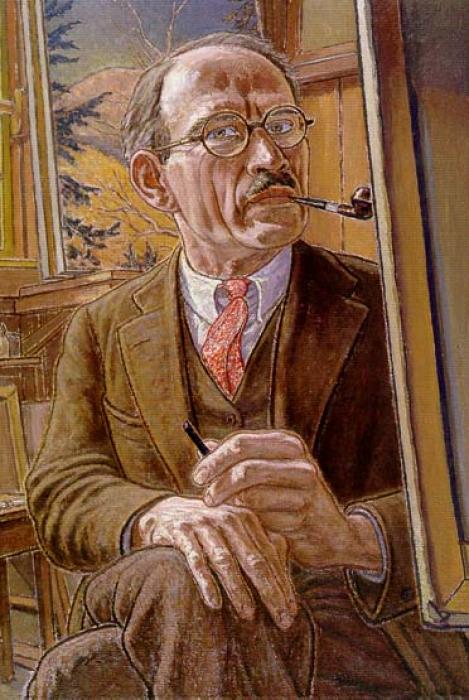 Harold Weston (1894-1972) (self portrait in 1939)