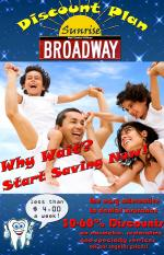 Broadway/Sunrise Discount Plan