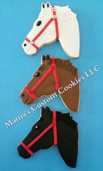 Custom Horse Cookies