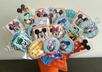 Disney Inspired Custom Character Cookie Bouquet