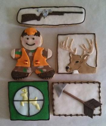 Custom Hunting Cookies