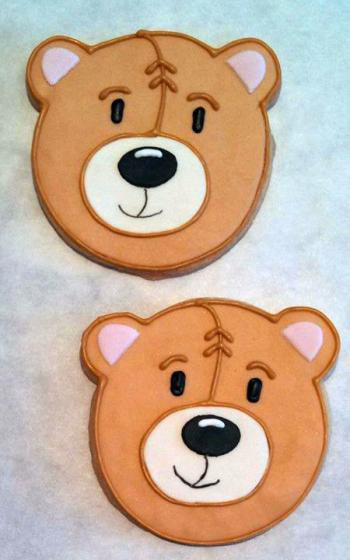 Custom Bear Cookies