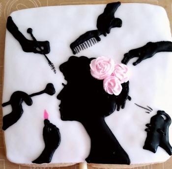 Custom Beauty Cookies