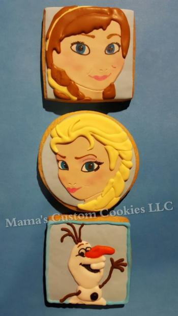 Hand created custom cookies