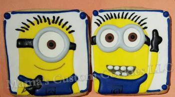 Custom inspired Miinion cookies