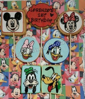 Custom Disney Inspired Character Cookies