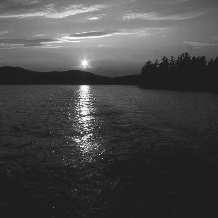 Eternal Sunset (B&W).