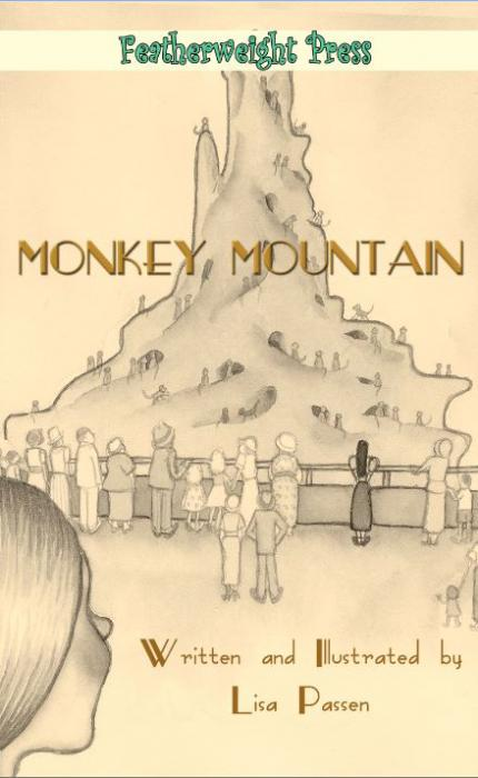 MONKEY MOUNTAIN. <p>Monkey Mountain is the (sort of) true story of the Great Monkey Escape from Frank Buck`s Jungle Camp on Long Island, New York. A hilarious fictional telling of a true event, Monkey Mountain is set in the midst of the Great Depression. Its various characters interconnecting stories center around twelve-year old Nancy Johnson and the Monkey Mountain at Frank Buck`s Jungle Camp. Excitement enters Nancy`s world as she is caught up in the mayhem that ensues as hundreds of monkeys escape from the zoo. Like the fugitive monkeys, Nancy and the others learn a thing or two about breaking free to follow a dream. Some will, some won`t, and some can`t.</p>  <p>Available in print and e-book at Amazon, Barnes &amp; Noble, Featherweight Press Store.</p>