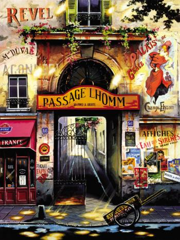 Passage Lhomm by Ruben Bore