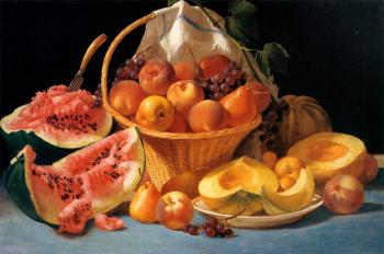 Stillife with Fruit by Ruben Bore