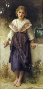 A Moment`s Rest - William Adolphe Bouguereau