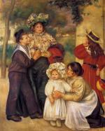 La Famille d Artiste - Pierre-Auguste Renoir