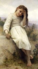 Little Thief - William Adolphe Bouguereau