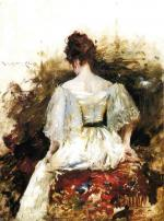 The White Dress - William Merritt Chase