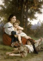 Rest - William Adolphe Bouguereau