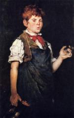 The Apprentice - William Merritt Chase