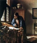 The Geographer - Johannes Vermeer