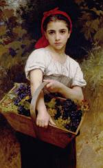 The Grape Picker - William Adolphe Bouguereau