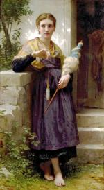 The spinner - William Adolphe Bouguereau