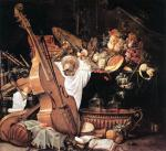 Vanitas Still Life With Mus - Cornelis de Heem