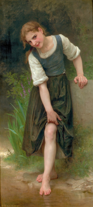 The Ford - William Adolphe Bouguereau