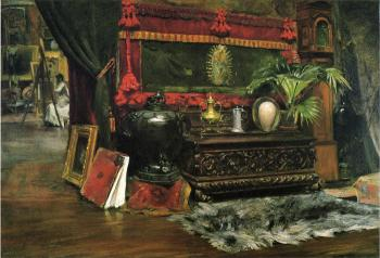 A Corner of My Studio - William Merritt Chase