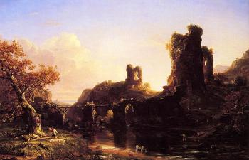 An Italian Autumn - Thomas Cole