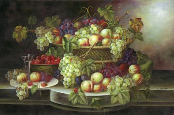 Assorted fruits - Decorative Classic Stilllives