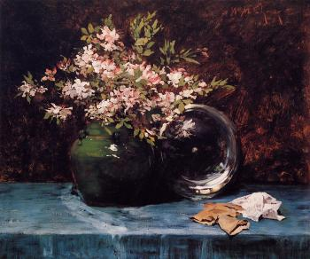 Azaleas - William Merritt Chase
