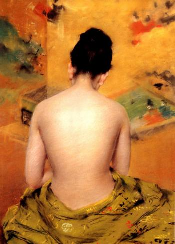 Back of a Nude - William Merritt Chase