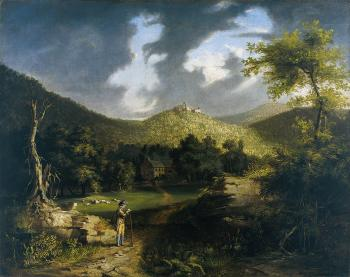 A View of Fort Putnam - Thomas Cole