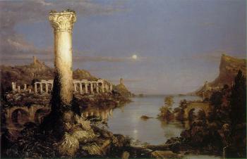 The Course of Empire (Desolation) - Thomas Cole