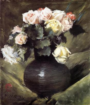 Flowers - William Merritt Chase