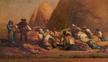 Harvesters Resting - Jean François Millet