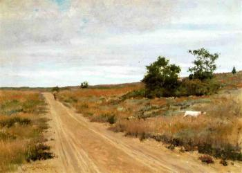 Hunting Game in Shinnecock Hills - William Merritt Chase
