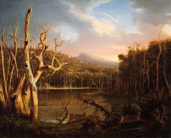 Lake with Dead Trees - Thomas Cole