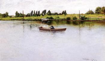 Pulling For Shore - William Merritt Chase