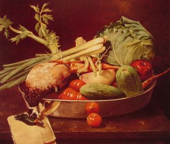 Still Life With Vegetables - William Merritt Chase