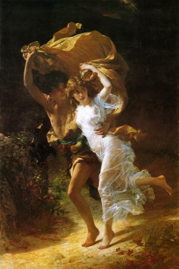 Storm - Pierre-Auguste Cot